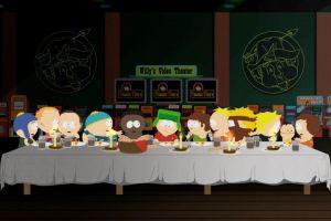 the last supper butters kenny mccormick eric cartman south park kyle broflovski