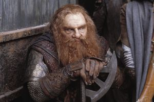 the lord of the rings axes moustache beards dwarfs movies gimli