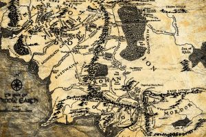 the lord of the rings middle-earth map