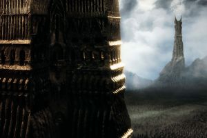 the lord of the rings: the two towers the lord of the rings movies barad-dûr