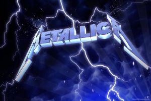 thunderbolt heavy metal music thrash metal big 4  metallica  band logo