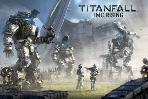 titanfall futuristic video game art science fiction mech robot video games