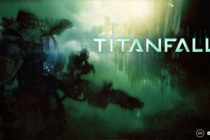titanfall video games futuristic artwork