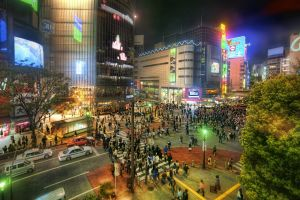tokyo urban cityscape