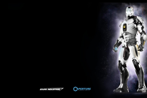 tony stark portal gun portal (game) iron man