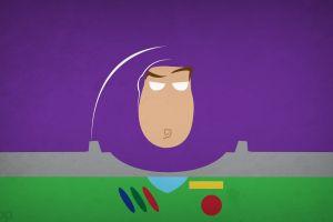 toy story pixar animation studios hero minimalism buzz lightyear astronaut disney pixar disney blo0p