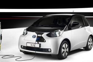 toyota iq electric car car