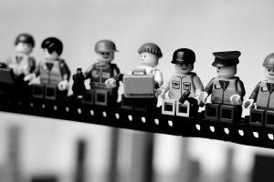 toys lego monochrome