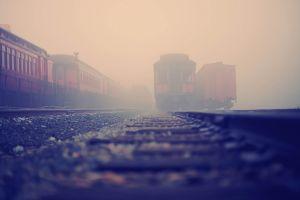 train mist railway