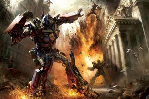 transformers: the game artwork optimus prime destruction fan art fantasy art video games transformers digital art