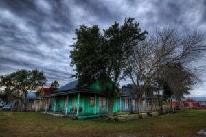 trees nature hdr car sky clouds vehicle house