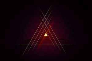 triangle abstract simple background lines