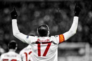 turkey men galatasaray s.k. arms up soccer digital art