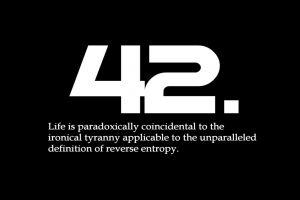 typography black background quote