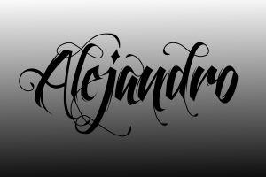typography calligraphy monochrome lady gaga
