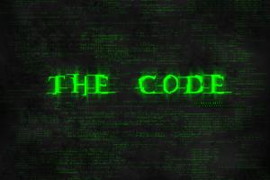 typography code digital art