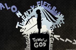 typography simple background 2012 (year) tower of god
