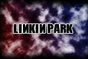 typography texture music linkin park