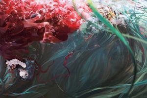 underwater touhou kagiyama hina
