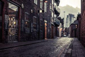 urban dock street market city street