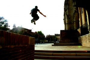 urban jumping parkour