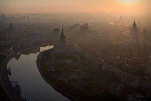 urban mist city moscow