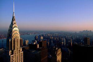 usa city cityscape new york city skyscraper chrysler building