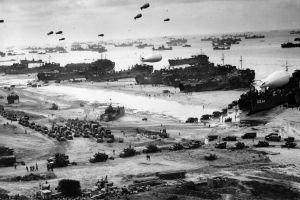 usa world war ii normandia war machine  ship beach navy army soldier monochrome warship war sea