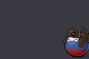 ushanka russia minimalism countryballs