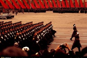 ussr soviet union soldier military national geographic parade