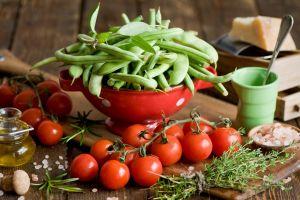 vegetables food tomatoes