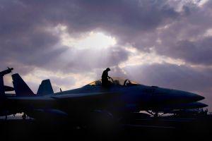 vehicle aircraft military military aircraft dark mcdonnell douglas f/a-18 hornet