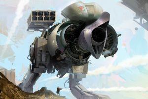 vehicle artwork science fiction