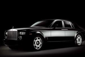 vehicle black cars black background rolls-royce phantom rolls-royce