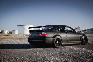 vehicle car black cars e-46 bmw