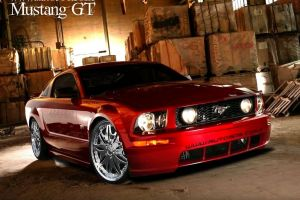 vehicle car ford ford mustang gt boxes red cars