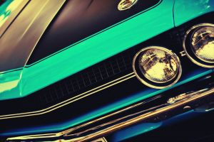 vehicle car muscle cars
