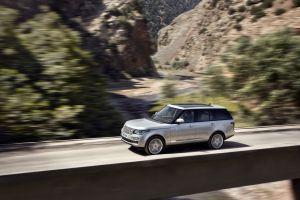 vehicle car range rover