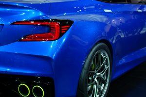 vehicle car subaru blue cars