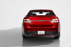 vehicle ford ford taurus red cars car