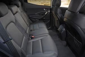 vehicle interiors hyundai santa fe car vehicle