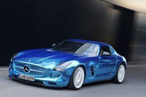vehicle mercedes sls mercedes benz car blue cars