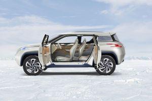 vehicle silver cars car nissan terra car interior nissan