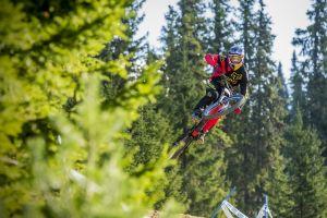 vehicle sport  biker jumping