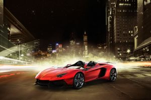vehicle super car  car lamborghini aventador lamborghini red cars