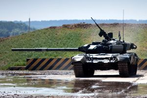 vehicle tank military t-90