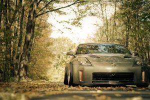 vehicle trees car
