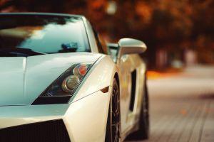 vehicle white cars lamborghini car