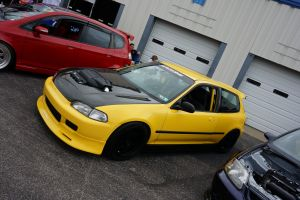 vehicle yellow type r car yellow cars honda civic tuning honda red cars