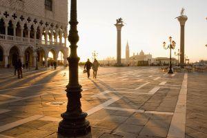 venice sunlight architecture city italy